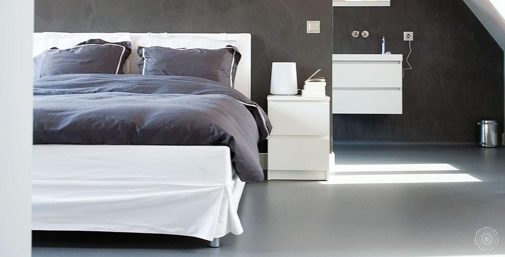 gietvloer slaapkamers