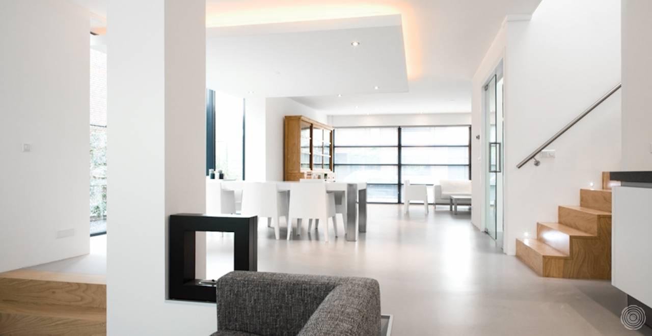 Woonbeton: een stabiele en sterke vloer van beton senso gietvloer